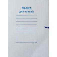 Папка для паперів А4 на зав'язках