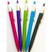 """Ручка кулькова автоматична, синя """"Flair 964 Ezee click ASS"""" (1 шт.)"""