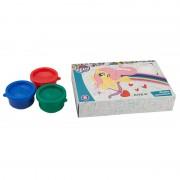Фарби пальчикові, 6 кольорів, 35 мл, MY LITTLE PONY, LP19-064, KITE