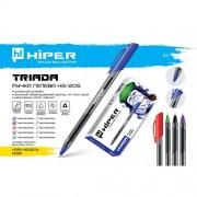 Ручка гелева Hiper Triada HG-205 0,6 мм (СИНЯ), HG-205С