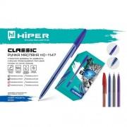 Ручка масляна Hiper Classic,1.0мм (СИНЯ), HO-1147 (1шт)