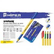 Ручка масл. Hiper Shark, 0,7мм (СИНЯ), HO-200 (1шт)