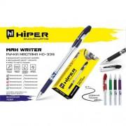 Ручка масляна Hiper Max Writer, 2500м 0,7мм (СИНЯ), HO-335 (1шт)