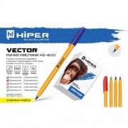 Ручка масл. Hiper Vector, 0.7 мм (СИНЯ), HO-600 (1шт)