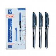 Ручка кул., масляна Writo-meter Gel,синя, 10 км., 743 BL, Flair