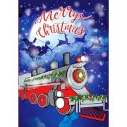 "Открытка ""Merry Christmas!"" - Этюд ЛК-161"