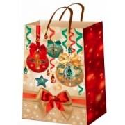"""Пакет ламінований новорічний (16х16х6 см) - ТОВ """"ТБВ """"Едельвейс""""  П3-121-НР"""