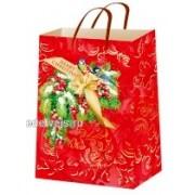 """Пакет ламінований новорічний (16,5х26х7 см) - ТОВ """"ТБВ """"Едельвейс"""" П5-074"""