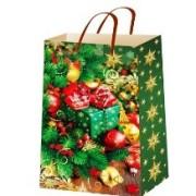 """Пакет ламінований новорічний (16,5х26х7 см) - ТОВ """"ТБВ """"Едельвейс"""" П5-077"""