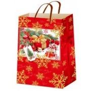 """Пакет ламінований новорічний (16,5х26х7 см) - ТОВ """"ТБВ """"Едельвейс"""" П5-079"""