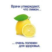 """Открытка """"Врачи утверждают, что лимон..."""" - Этюд К-1269"""