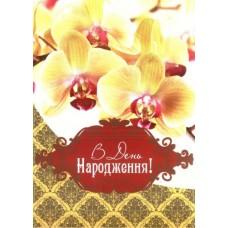 """Листівка """"В День Народження!"""" - Открытка.ЮА. СФ-0412/108(у)"""