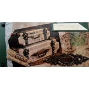 """Конверт для грошей ручної роботи KR-OUA-54U """"Вітаємо!"""" (без тексту)"""