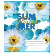 "Зошит А5, 24 арк., лінія ""SUMMER FLOWER"", 764087, 1вересня"