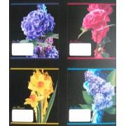 """Тетрадь """"Тетрада"""", 36 листов, клетка, 17х20 см - """"Квіти"""" №41"""