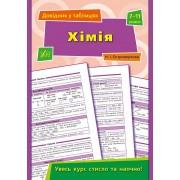 """Книга """"Хімія. Довідник у таблицях. 7-11 класи"""" - УЛА-286"""
