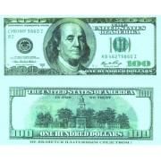 Денежная купюра сувенирная 100 Долларов (1 уп. = 80 шт.) - №21
