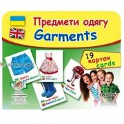 """Картки """"Предмети одягу"""" (19 карток), Эдельвейс ON-022У"""