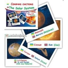 """Картки """"Сонячна система"""" (19 карток), Эдельвейс ON-021У"""