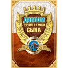 """""""Диплом лучшего в мире сына"""" - Горчаков-51.52.055"""