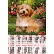 Календар-плакат на 2022 рік А2-SK-03