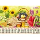 Календар-плакат, А2, на 2022 рік (Натюрморт) - А2-19