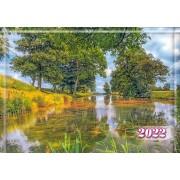 Календар квартальний настінний на 2022 рік Б.ЭК-09