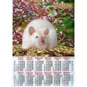 Календарь-плакат на 2019 год А2-05