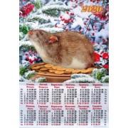 Календарь-плакат на 2019 год А2-06