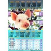 Табель-календарь на 2019 (формат А4) ТК-06