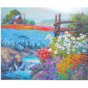 """Картина по номерах """"КВІТКОВИЙ КИЛИМ"""", 40х50см, фарби+пензлики (3шт), Josef Otten, Y5303"""