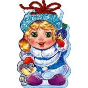 """Книга-шнурівка на ізолоні """"Снігуронька"""" (М'який Новий Рік) - Ранок М554007У-428 (укр.)"""