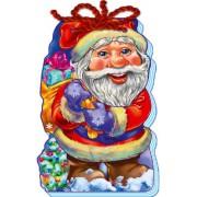 """М'який Новий Рік """"Дід Мороз""""- Ранок М554005U-181 (укр.)"""