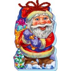 """Книга-шнурівка картонна """"Дід Мороз"""" - Ранок М555005У-424 (укр.)"""