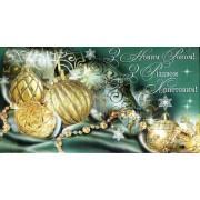 """Конверт для грошей """"З Новим Роком! З Різдвом Христовим!"""" - Экспресс Удачи KNV-00034U"""