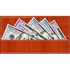 Конверт для грошей - Едельвейс КМ-135 (без тексту)