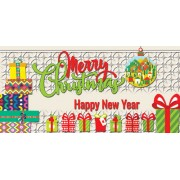 "Конверт для денег ""Merry Christmas! Happy New Year!"" - Этюд Т-213"