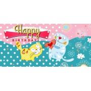 """Конверт для грошей """"Happy birthday!"""" - Радіка ЛВ-01-335"""