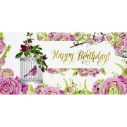 """Конверт для грошей """"Happy Birthday!"""" - Радіка ЛВ-01-340"""