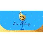 """Конверт для грошей """"Happy Birthday"""" - Радіка ЛВ-01-439"""
