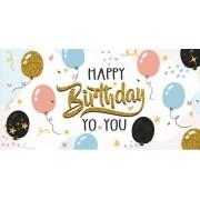"""Конверт для грошей """"Happy Birthday"""" - Радіка ЛВ-01-461"""