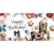 """Конверт для грошей """"Happy Birthday"""" - Радіка ЛВ-01-466"""