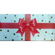 """Конверт для плитки шоколаду К(А)-001У, мелований картон, 217х115 мм, ТОВ """"ТБВ """"Едельвейс"""""""