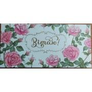 """Конверт для плитки шоколаду К(А)-005У, мелований картон, 217х115 мм, ТОВ """"ТБВ """"Едельвейс"""""""