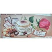 """Конверт для плитки шоколаду К(А)-015У, мелований картон, 217х115 мм, ТОВ """"ТБВ """"Едельвейс"""""""