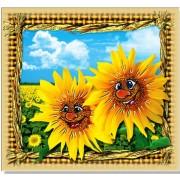 """Магніт тонкий """"Веселі соняшники"""" - Фоліо ФМ-034"""
