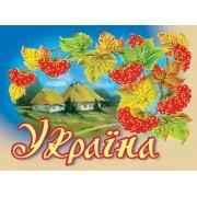 """Магніт тонкий """"Україна"""" - Фоліо ФМ-144"""