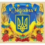 """Магніт тонкий """"Україна"""" - Фоліо ФМ-157"""