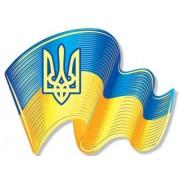 """Магніт тонкий """"Прапор України"""" - Фоліо ФМ-004"""