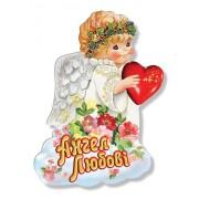 """Магніт тонкий """"Ангел Любові"""" - Фоліо ФМ-121"""
